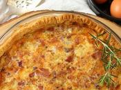 Bacon Leek Quiche #BloggerCLUE