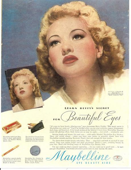Chica Chica Boom Chic!  Excerpt from The Maybelline Story featuring Fox Star, Betty Grable