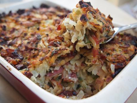 Rutabaga, Bacon and Date Stuffing