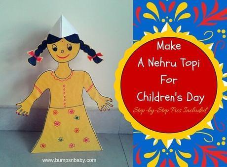 Nehru Topi DIY – Children's Day Special
