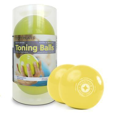 Toning Ball Two-Pack - 2 lbs (lemon)