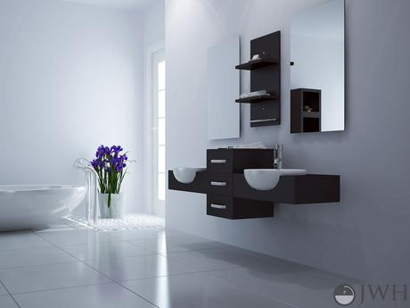 Affordable modern furniture bathroom vanities under 1 000 paperblog Affordable modern bathroom design