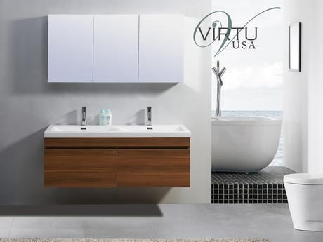 zuri double sink bathroom vanity modern sleek design style top most best affordable value money saving discount minimal floating wall mounted space saving efficient small bathroom integrated virtu usa trade winds imports ceramic counter high quality