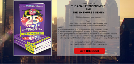 Author, Entrepreneur Julian Hosp: 25 Stories I Would Tell my Younger Self