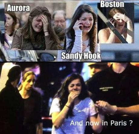 crisis actress at 2015 Paris attack