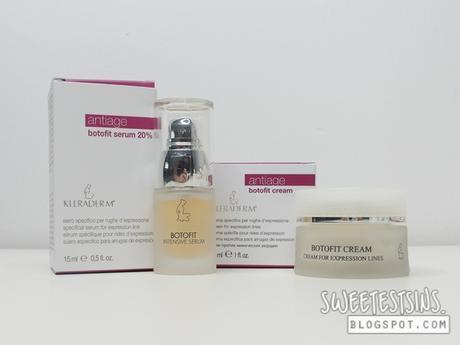 Kleraderm Antiage Botofit Serum 20 And Antiage Botofit Cream Review