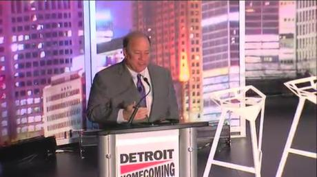 Mayor Mike Duggan/Photo via WXYZ.com