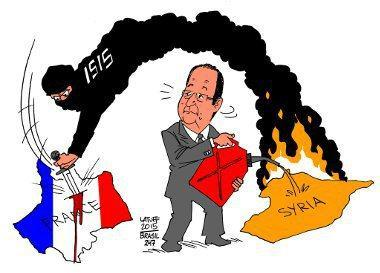 France created ISIS and supported Al  Qaeda, ISIS and all the rest from Day One.