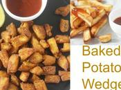 Baked Potato Wedges: Kinds: Chilli Coriander Powder Salted