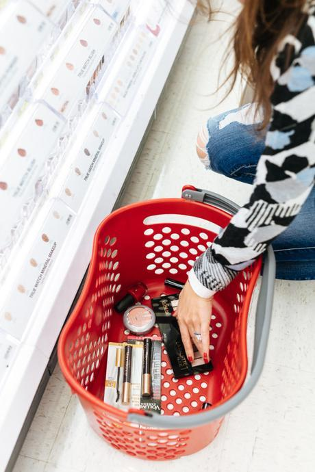 Amy Havins shops for beauty products with the Target Beauty Concierge.