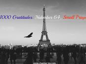 #1000 Gratitudes: Nubmber Small Prayers