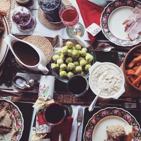 Christmas lunch 2014. Cannot wait for more festive treats!