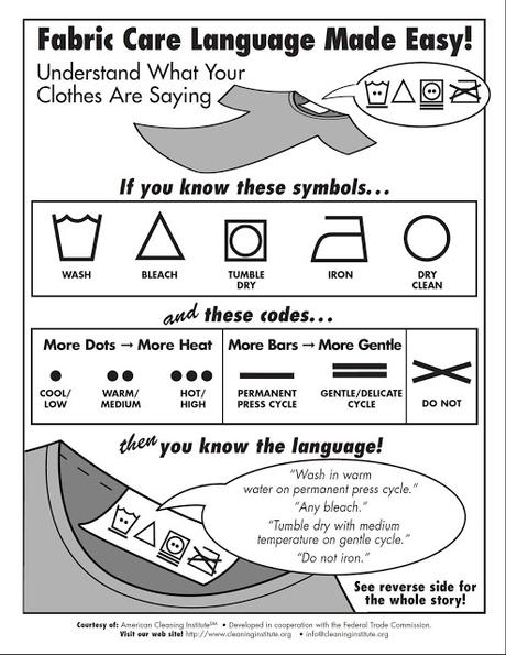 How to Read that Laundry Tag (and not lose your mind)