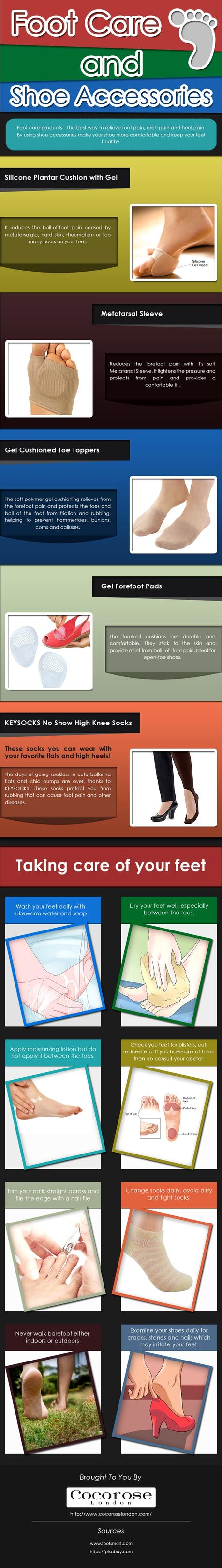 Foot Care and Shoe Accessories