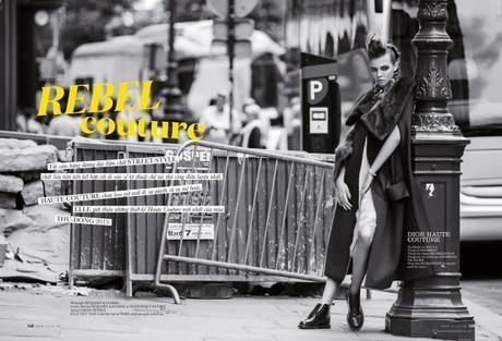 Léa Julian in Christian Dior Haute Couture @ Benjamin Kanarek