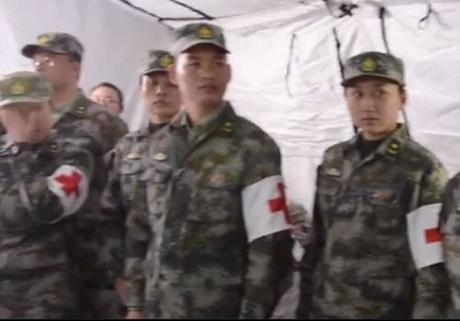 Chinese military at Joint Base Lewis-McChord