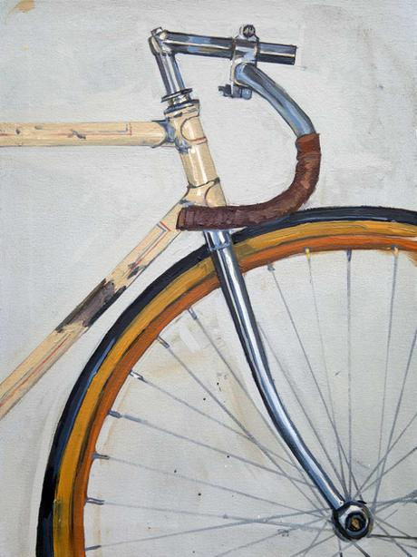 Bicycle Painting By Taliah Tempert Jealous Curator