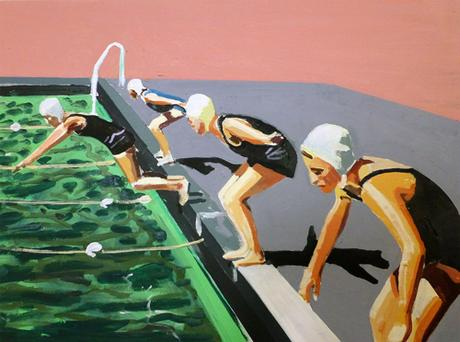 Divers Poolside By Jessica Brilli Jealous Curator