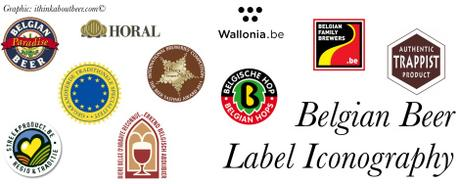 Belgian Beer Label Iconography