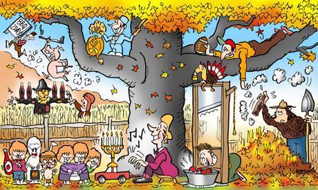 fall fun activities foliage Halloween trick or treaters football tailgating truck piano bob apples guillotine corn maze scarecrow Coca-Cola Amelia Earhart pig roast barbecue carve pumpkin jack o'lantern pine cone turkey touch football pull hamstring burn leaves bonfire Smokey Bear