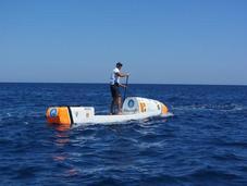 Frenchman Attempt Atlantic Crossing Board