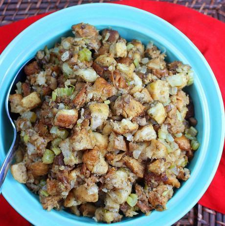 Old-Fashioned Chestnut Stuffing or Dressing