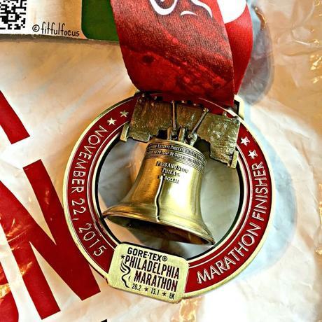 Philadelphia Marathon Medal   Philadelphia Marathon Race Recap