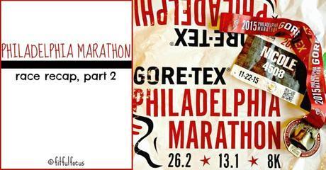 Philadelphia Marathon Race Recap