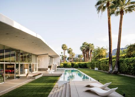 Desert Canopy House lap pool