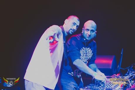 Jason Ramesh Solomon and DJ SAN