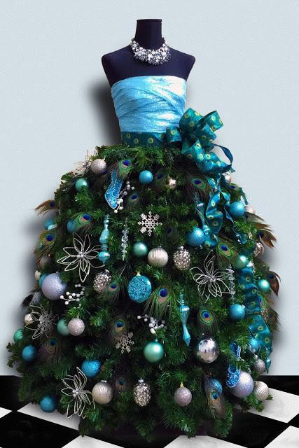 Diy ideas alternative christmas trees paperblog - Christmas tree alternatives beautiful ideas ...
