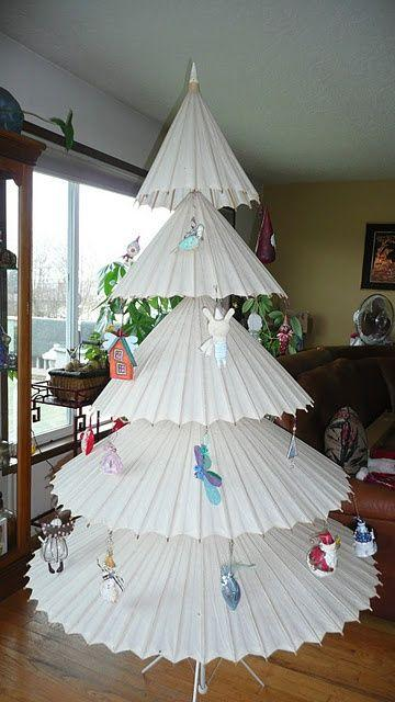 diy ideas alternative christmas trees paperblog