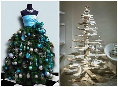 Diy Ideas Alternative Christmas Trees Paperblog