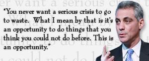 crisis go to waste