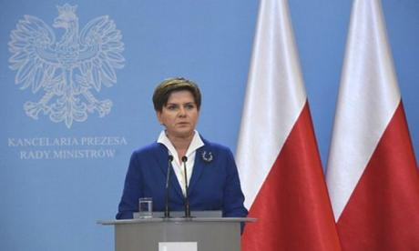 New Polish PM Beata Szydlo