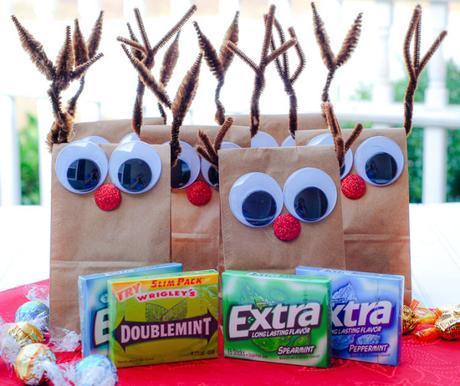 DIY Reindeer Treat Bags