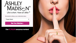 How many executive types in Alabama and Missouri were stupid enough to sign up with Ashley Madison, the Web site that says,