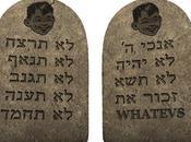 Commandments (Passive-Aggressive Version)