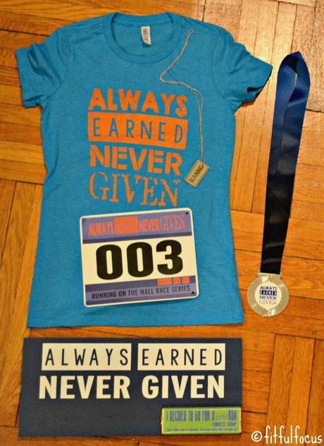 Earn Your Turkey Virtual Race Recap | Running | Race Swag