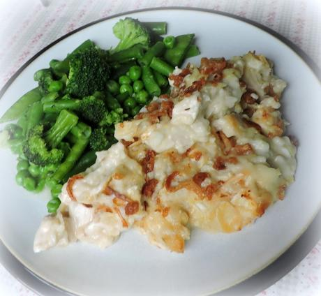 Crunchy Chicken Casserole* Serves 4 Printable Recipe