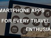 Smartphone Apps Every Travel Enthusiast