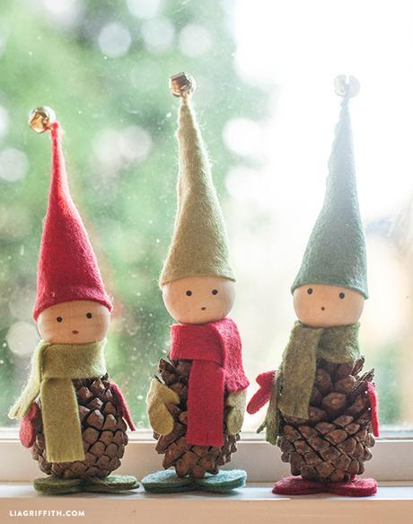 CUTEST Christmas Ornaments from Nature - Paperblog