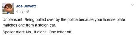 joe stolen car