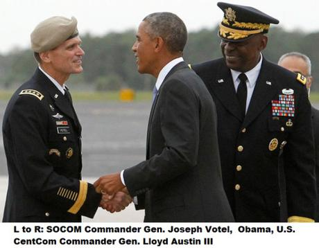 Joseph Votel, Obama, Lloyd Austin III