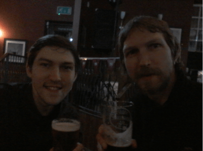 Beers with Danny in Liverpool