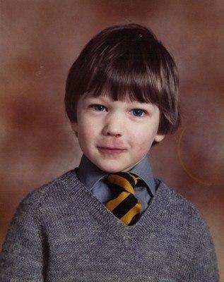 My school photo from 1984-85 in P1 Preston.