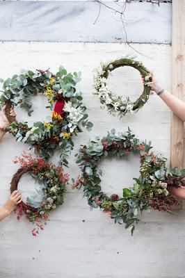 A Natural Christmas Wreath Paperblog
