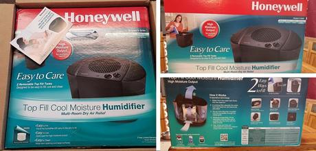 Honeywell Top Fill Cool Mist Console Humidifier