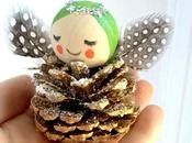 Pine Cone Angels Tutorial