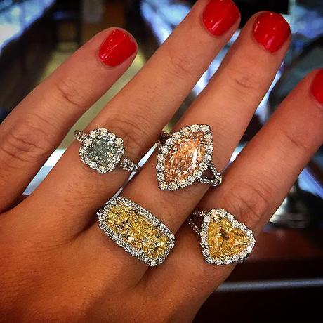 Fancy Colored Engagement Rings